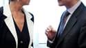 La ministre française de l'Economie Christine Lagarde et le président du Conseil européen, Herman Van Rompuy. Les ministres européens des Finances se sont retrouvés à Bruxelles pour réfléchir au renforcement de la gouvernance économique et de la disciplin