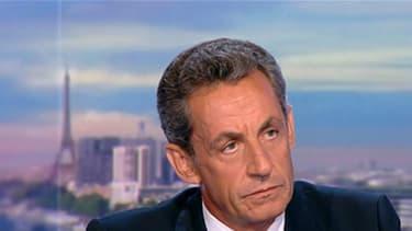 Nicolas Sarkozy au 20h le 24 août