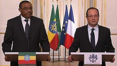 François Hollande a réagi à la libération des otages français, ce vendredi matin, depuis l'Elysée.