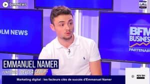 Emmanuel Namer - multi entrepreneur dans la formation