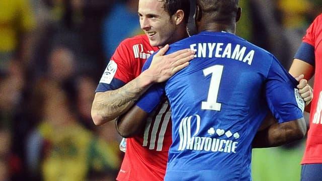 Vincent Enyema et Nolan Roux