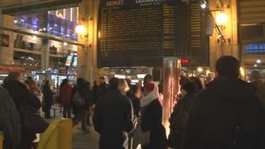 A la gare du Nord, à Paris, les salariés d'Itiremia auraient été sélectionnés pour que Shimon Peres ne soit pas accueilli par des salariés musulmans (Photo d'illustration).