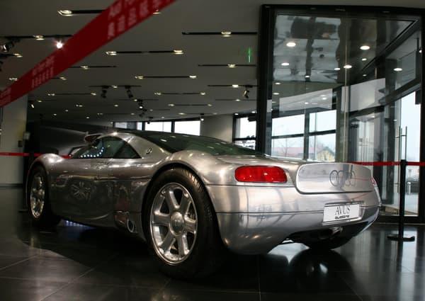 Spectaculaire, l'Avus était entièrement couverte d'aluminium.
