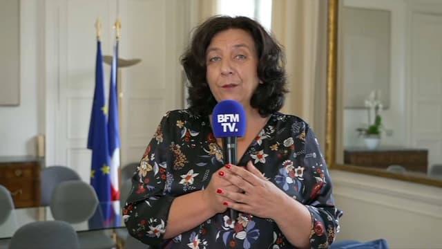 Frédérique Vidal, ministre de l'Enseignement supérieur, le 12 juillet 2021.