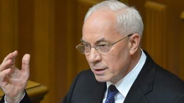 Mykola Azarov, le Premier ministre ukrainien, a posé ses conditions en vue d'un accord d'association avec l'UE.