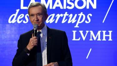 Le groupe français LVMH, propriété de Bernard Arnault, a réalisé près de 11 milliards d'euros de ventes au premier trimestre 2018. (image d'illustration)