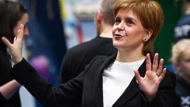 La Première ministre écossaise, Nicola Sturgeon, le 7 janvier dernier à Perth, en Écosse, rêve à nouveau d'indépendance après le vote sur le Brexit.