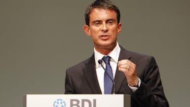 Manuel Valls a livré sa conception du couple franco-allemand devant le patronat d'outre-Rhin.