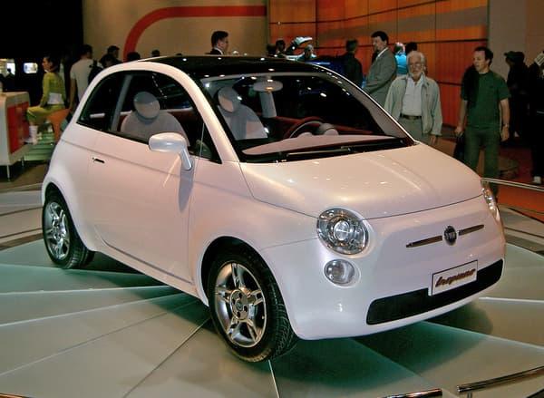 Le concept Trepiùno de 2004, annonçant le retour de la 500