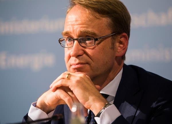 Jens Weidmann, président de la Bundesbank