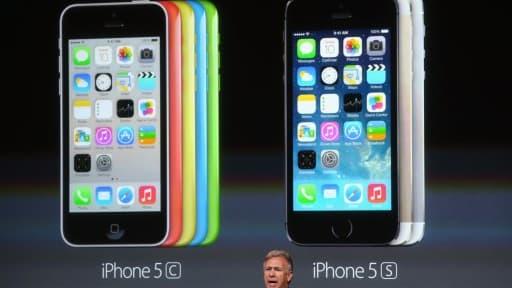 Apple a présenté l'iPhone 5C et l'iPhone 5S, ce mardi 10 septembre.