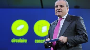Le directeur général de Suez, Jean-Louis Chaussade