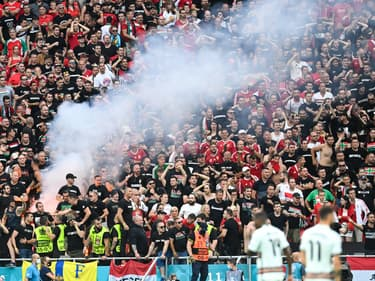 La Puskas Arena lors de Hongrie-Portugal, le 15 juin 2021.