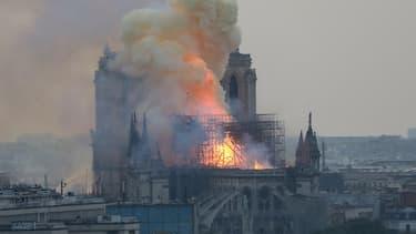 L'incendie à Notre-Dame de Paris
