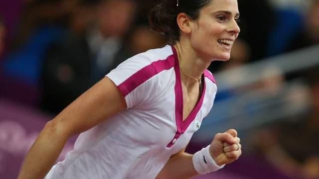 Ancienne partenaire en Fed Cup, Dechy se dit impressionnée par le caractère et la détermination de Bartoli, demi-finaliste à Roland-Garros