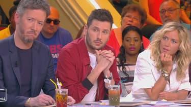 Comme les autres chroniqueurs de l'émission, Jean-Luc Moreau, Maxime Guény et Enora Malagré ont appris en direct le départ de Thierry Moreau de TPMP, le 9 mai 2017