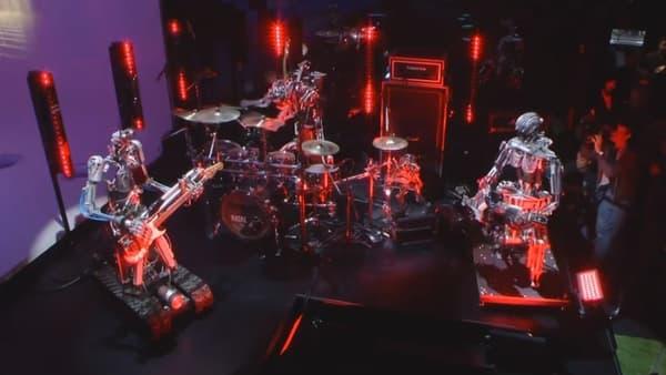 Les robots musiciens d'Audi