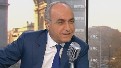 Ziad Takieddine, invité de BFMTV/RMC le 22 avril 2013