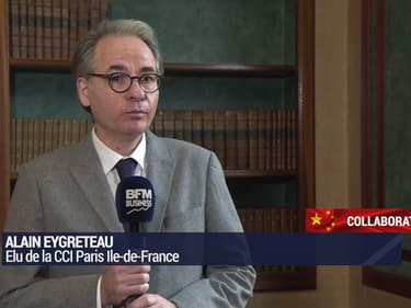 Alain Eygreteau, élu de la CCI Paris Ile-de-France