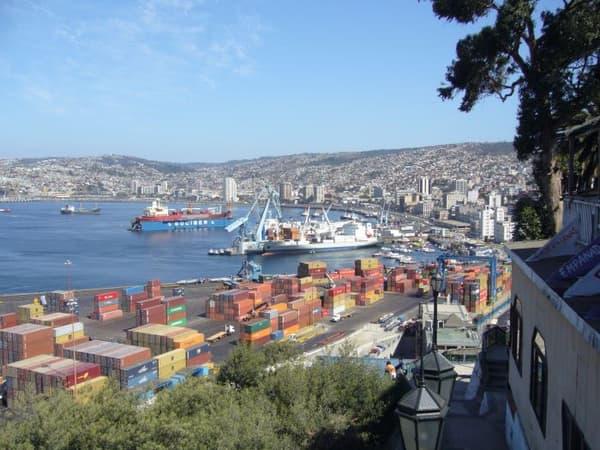 La ville de Valparaiso