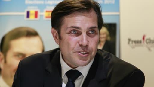 Charles-Philippe d'Orléans, le 9 mai 2012 à Paris