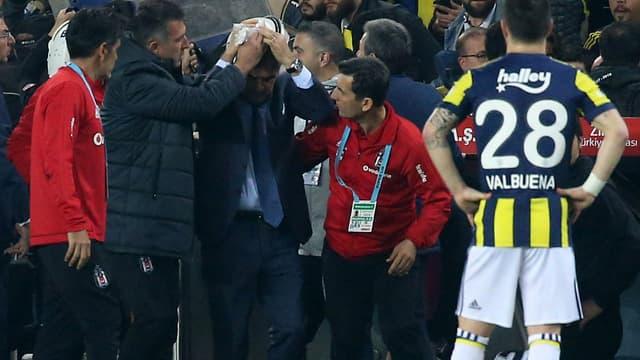 Senol Günes, entraîneur de Besiktas