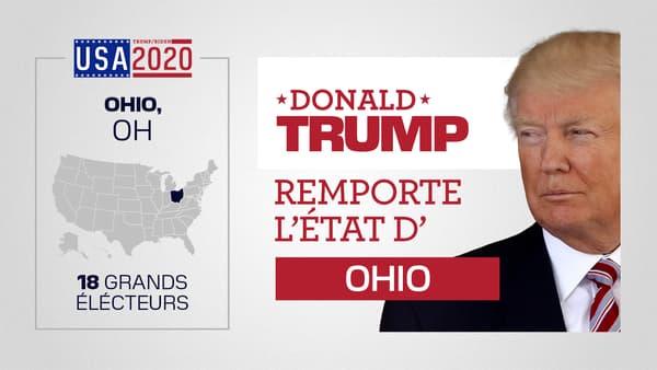 Trump remporte l'Ohio