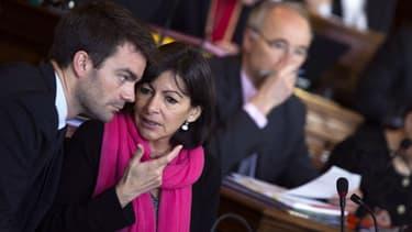 Anne Hidalgo et Bruno Julliard