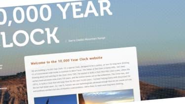 L'avancement des travaux pour l'horloge de 10.000 ans peut être suivi sur le site dédié.