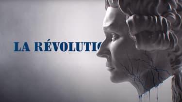 """Images extraite du teaser Netflix de sa série """"La Révolution""""."""