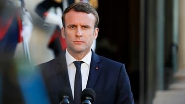 """Emmanuel Macron avait promis d'être """"intraitable"""" avec les comportements violents dans la police."""