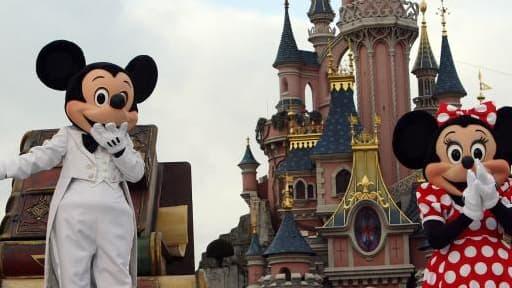 Le chiffre d'affaires d'Euro Disney a baissé de 6,3% d'octobre à décembre à 2013.
