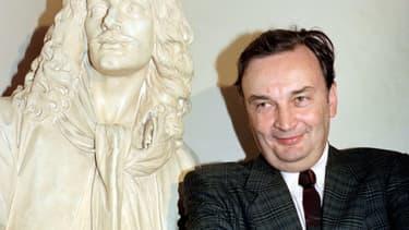 Jacques Lassalle à Paris en 1990