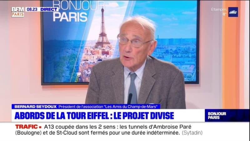 """""""Les Amis du Champ-de-Mars"""" demandent """"à tous les Parisiens de s'exprimer"""" sur le projet de réaménagement"""