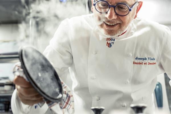 Joseph Viola, Meilleur Ouvrier de France et chef du bouchon lyonnais Daniel et Denise