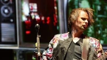 Matt Bellamy, le leader de Muse, le 12 avril 2014