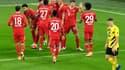 La joie du Bayern Munich