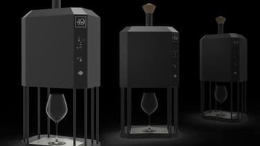 La machine D-Vine permet d'amener le vin au verre à la bonne température en quelques secondes.