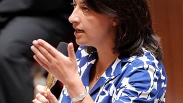 Cécile Duflot à l'Assemblée nationale, le 17 juillet 2012.