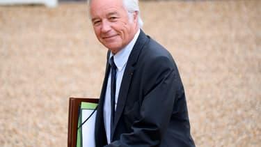 Le ministre du Travail François Rebsamen