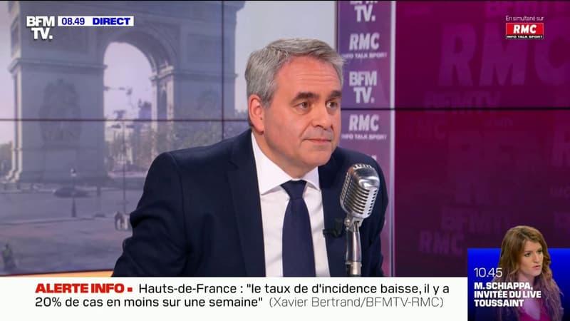 Présidentielle 2022: Xavier Bertrand maintiendra sa candidature même si il y a un autre candidat à droite
