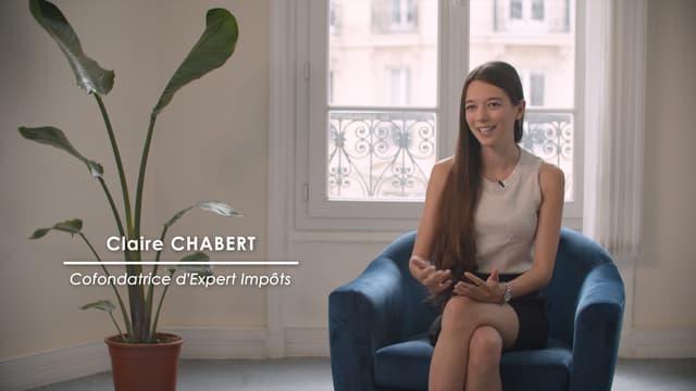 Claire Chabet, cofondatrice de la start-up française Experts Impôts