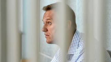 L'opposant russe Alexeï Navalny le 24 juin 2019 dans un tribunal à Moscou