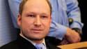 """Anders Behring Breivik, qui a massacré 77 personnes l'été dernier en Norvège, a été considéré """"sain d'esprit"""" lors de son acte par une équipe de psychiatres. /Photo prise le 6 février 2012/REUTERS/Lise Aserud/Scanpix"""