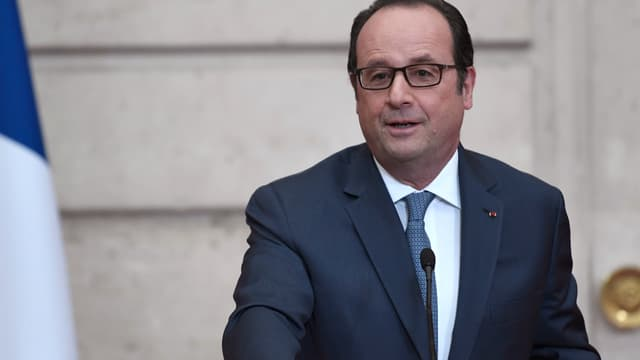 François Hollande, le 13 mars 2017.