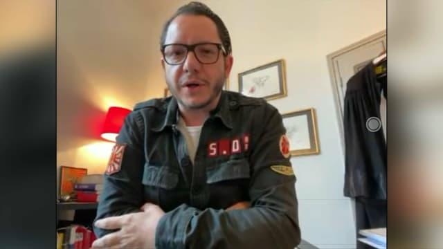 Jean-Baptiste Alary, avocat de Cédric Jubillar, sur BFMTV le 8 mars 2021.