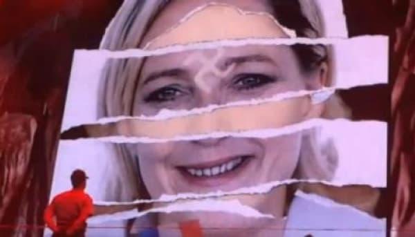 Marine Le Pen affublée d'une croix gammée lors d'un concert de Madonna