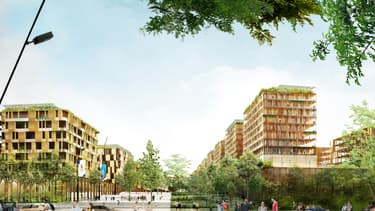 Le village olympique sera situé à proximité de la nouvelle station de métro Pleyel