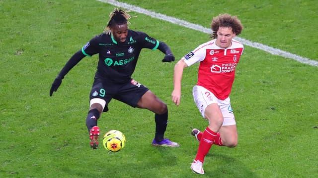 Reims - St Etienne (match aller 3-1)