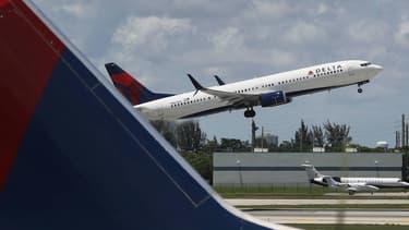 Un avion de la compagnie Delta Airlines (photo d'illustration)